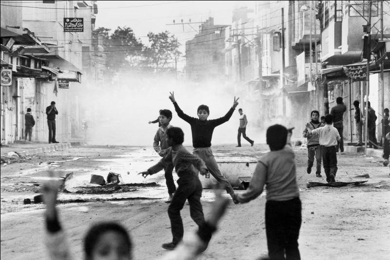 Le 9 décembre marque le début de l´Intifada. Où cette révolte se déroule-t-elle ?
