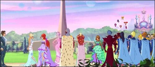 """Dans l'épisode 26 """"Winx pour toujours"""" de la saison 6, quel événement a lieu à la fin de l'épisode ?"""
