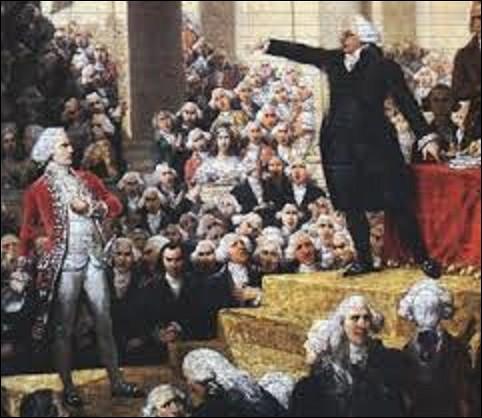 """Quel député du tiers-état rétorqua au marquis de Dreux-Brezé, grand maître des cérémonies du roi, à la séance royale du 23 juin 1789 se déroulant dans une salle de l'hôtel des Menus Plaisirs de Versailles, à la suite du serment du Jeu de paume : """"Allez dire à ceux qui vous envoient que nous sommes ici par la volonté du peuple, et que nous n'en sortirons que par la puissance des baïonnettes"""" ?"""