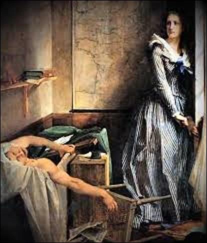 """""""Pour enchaîner les peuples, on commence par les endormir"""". Pourriez-vous me citer le nom de ce médecin, physicien, journaliste et homme politique, député de la Seine dans le groupe politique de la Montagne du 9 septembre 1792 au 13 juillet 1793, qui a tenu ces propos dans son journal """"L'Ami du Peuple"""", qui était aussi son surnom, et qui mourut assassiné dans sa baignoire ?"""
