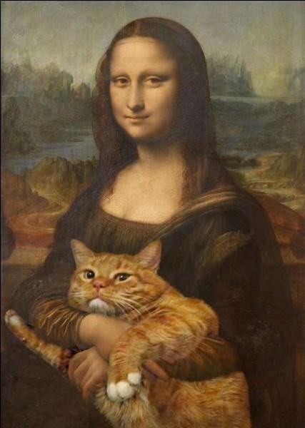 Les chats mettent un peu d'humour dans l'art !