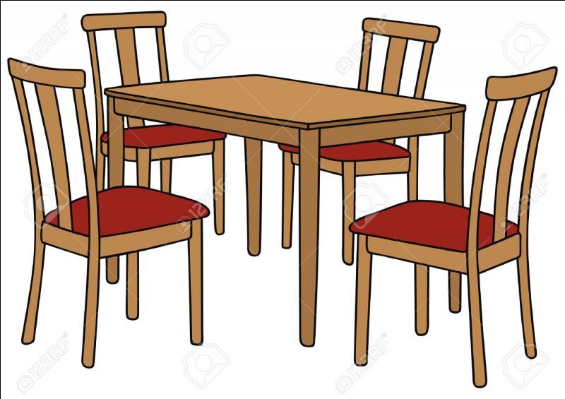 On me met sur la table, on me coupe et pourtant on ne me mange pas. Que suis-je ?