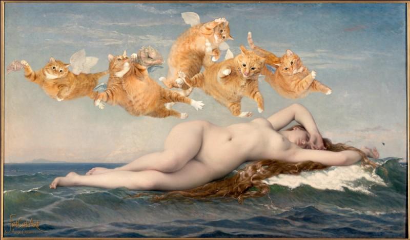Pour honorer cette déesse, les chats ont remplacé les anges !