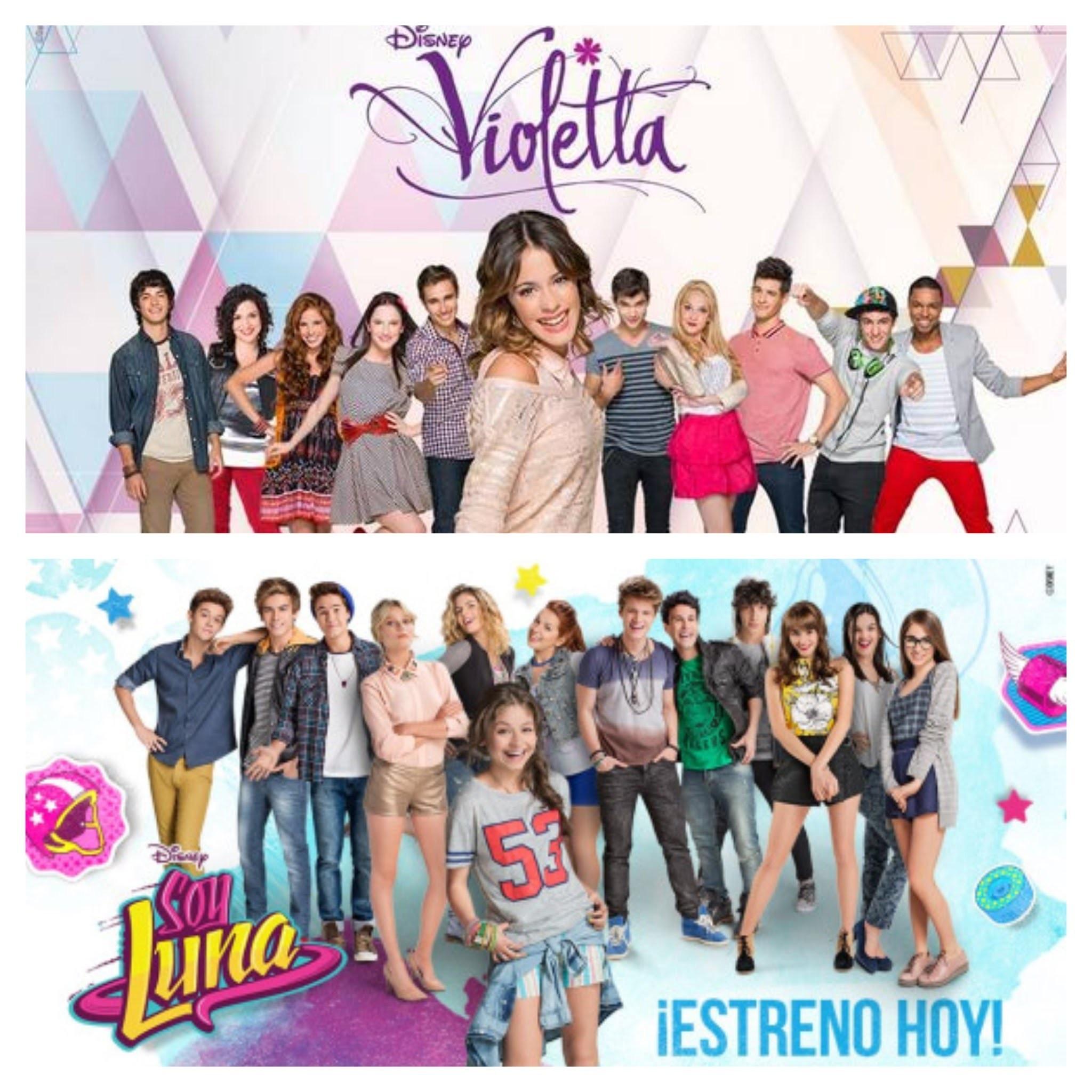 Les adultes dans 'Soy Luna' et 'Violetta'