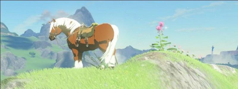 Comment s'appelle le cheval de Link ?
