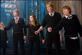 Quel sortilège réussit très bien Ginny Weasley ?