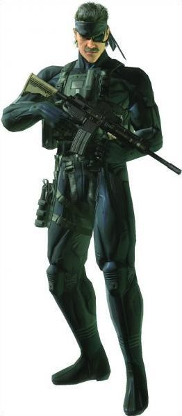 Personnages MGS gun's of the patriot