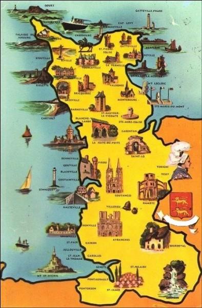 Quel département normand est limitrophe de la Bretagne ?