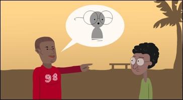 Comment appelle-t-on la façon de parler basse et triviale qui renferme souvent une mauvaise plaisanterie ?