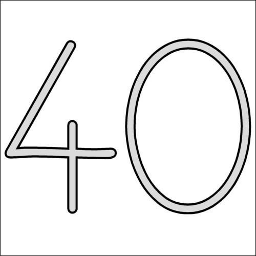 Comment appelle-t-on un nombre qui contient 40 unités ?