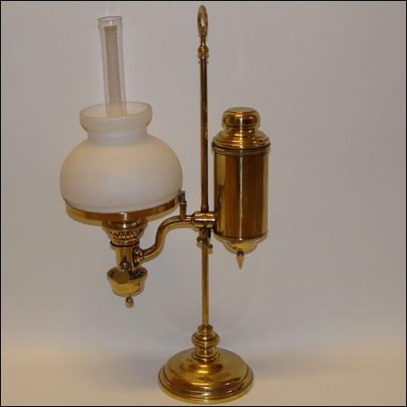 Comment appelle-t-on la lampe à un ou plusieurs becs et à double courant d'air ?