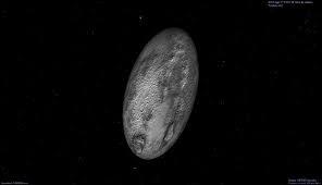 Quel est l'objet de plus de 100 kilomètres ayant la rotation la plus courte du système solaire ?