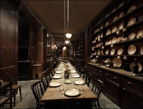 Où peut-on voir cette salle à manger ?