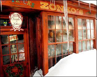 Que vend le magasin Zonko ?
