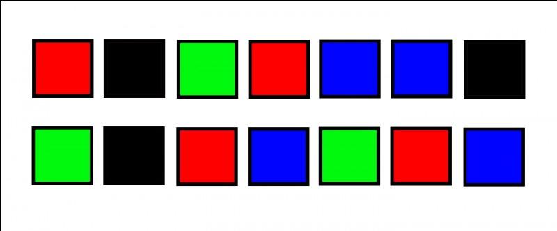 Clique selon le code ci-dessus... La lecture se fait de gauche à droite, ligne après ligne...