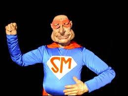 Quel personnage des Guignols de l'info était parfois vêtu d'un costume et surnommé Super Menteur ?