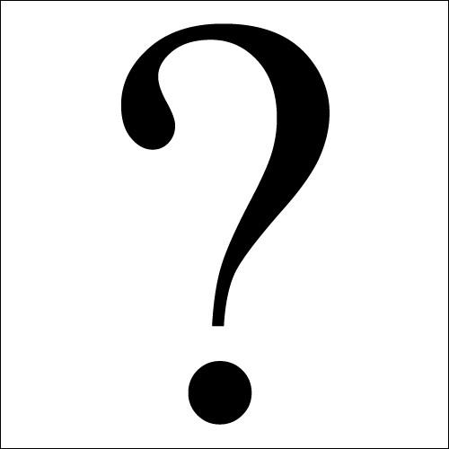 Si vous avez bien suivi, quelle lettre forme le trajet que nous avons suivi ?