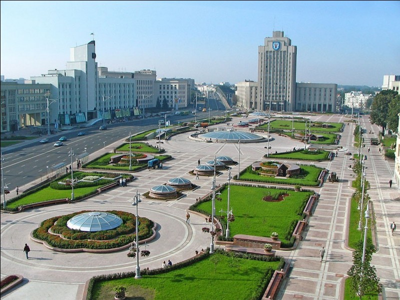 Nous allons vers l'Est, jusqu'au Belarus. Quelle est sa capitale ?