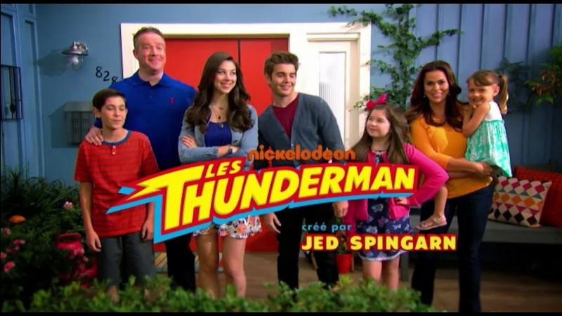 """Sur quelle chaîne passe la série """"Les Thunderman"""" ?"""