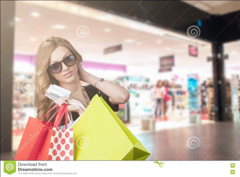 Fais-tu du shopping ?