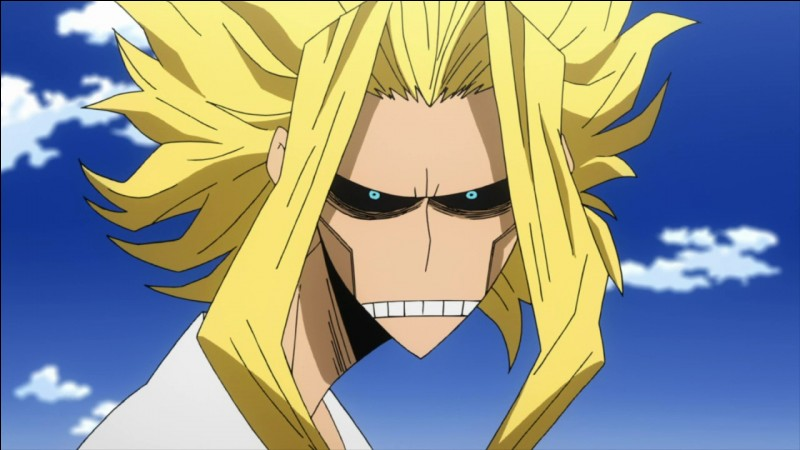 Depuis quand All Might a-t-il perdu son aptitude à rester en mode héros de façon permanente ?