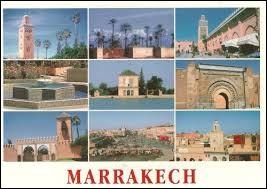 Roger vous envoie une carte postale de ses vacances à Marrakech. Dans quel pays se trouvait-il ?