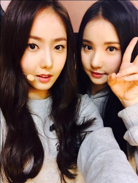 Quelle était l'ancienne agence de SinB et Eunha ?
