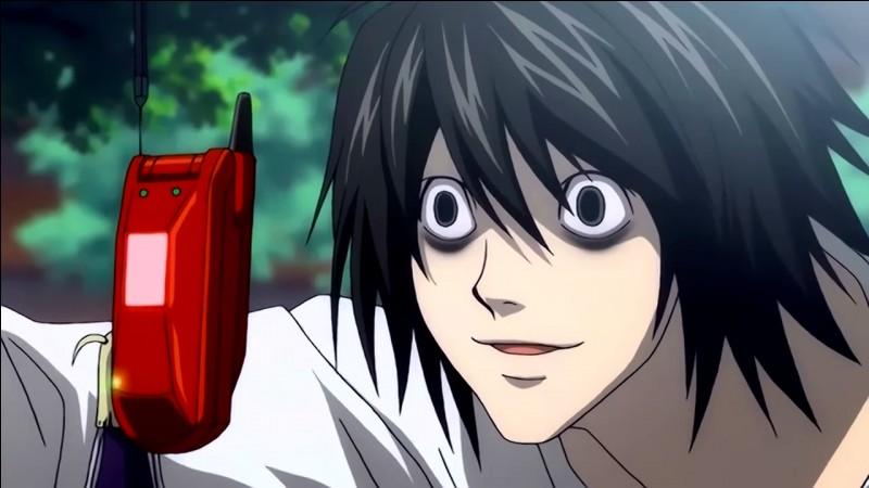 Qu'est-ce que L dit lorsque le père de Yagami et les autres le rencontrent pour la première fois et qu'ils donnent leurs noms ?