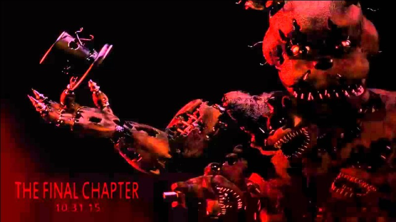 Qui est la peluche freadbear dans Five Nights at Freddy's 4 ?