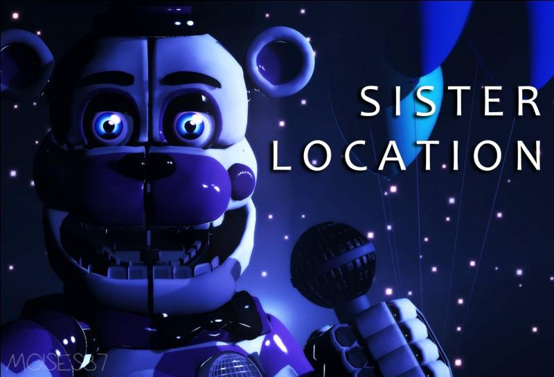 Dans les previews de Five Nights at Freddy's sisters location qui est l'animatronic qui est cassé ?