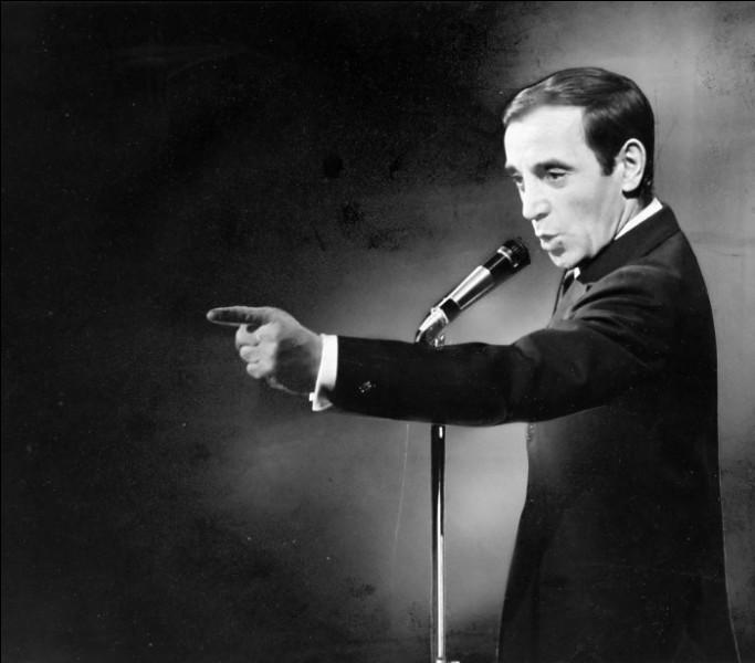 Quel âge a Charles Aznavour ?