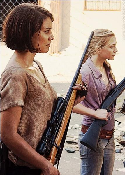 Comment s'appelle la sœur de Maggie ?