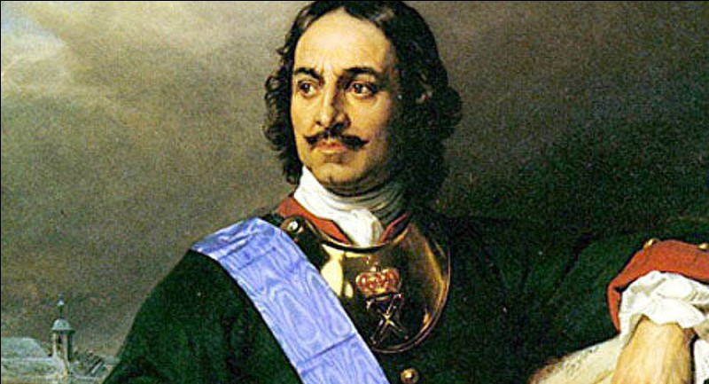 Comment est mort le tsar Pierre le Grand ?