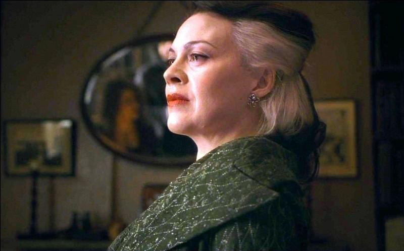 Que fait sa mère par peur qu'il ne réussisse pas et que Voldemort décide de le tuer ?