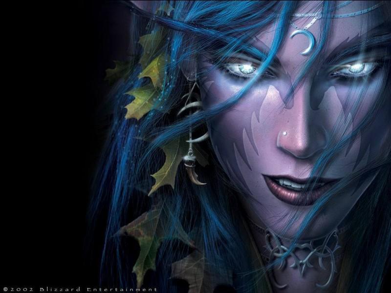 Comment les elfes de la nuit sont-ils devenus ce qu'ils sont aujourd'hui ?
