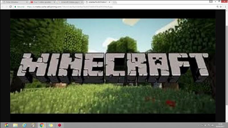 Minecraft est un jeu...