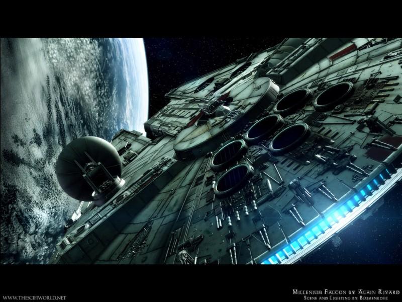 Comment s'appelle le vaisseau de Han Solo ?