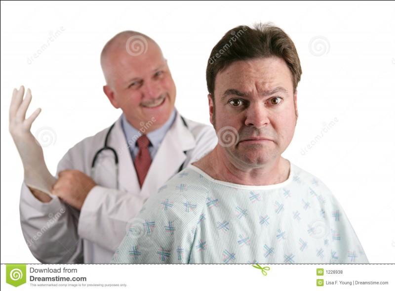 Vous ne voulez pas me dire de quelle maladie je suis atteinte, mais je le devine ...