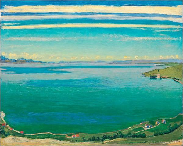 """""""Le Lac Léman vu de Chexbres"""" (1904-1905)"""