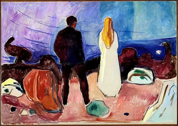 """""""Deux êtres humains. Les solitaires"""" (1933-1935)"""