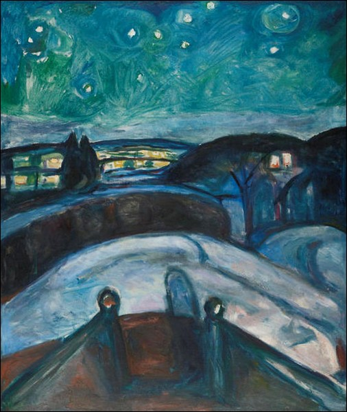 """Nuit étoilée"" (1922-1924)"