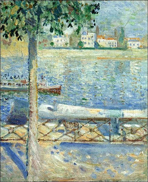 """""""La Seine à Saint-Cloud"""" (1890)"""