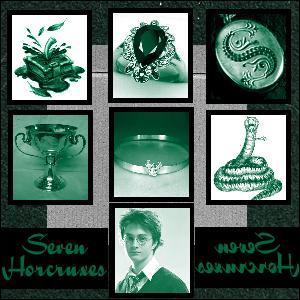 Dans le dernier tome d'Harry Potter, comment s'appelle les différentes âmes de Lord Voldemort qu'il a enfoui dans de divers objets ?
