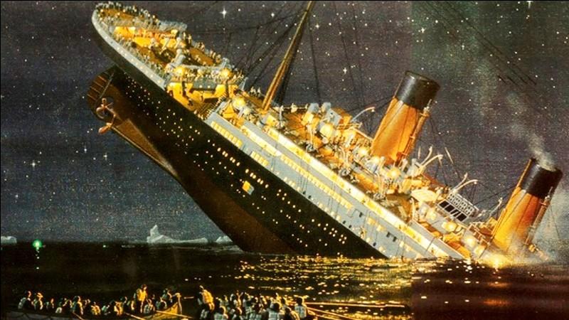 Quelle est la date du naufrage du Titanic ?