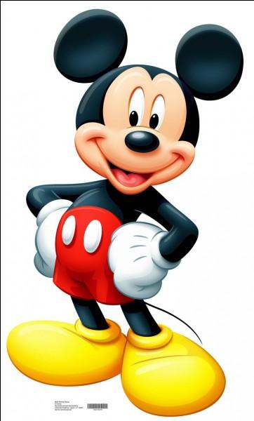 Quelle est la date de la première apparition de Mickey à l'écran ?