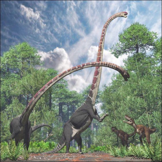 Quel est ce dinosaure mamenchisauridae ?