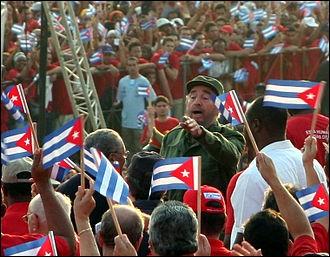 Fidel Castro, Premier Ministre puis Président de la République de Cuba, avait pour acteur favori, dit-on, un grand acteur français. Vrai ou faux ?