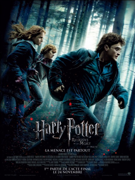 """""""Harry Potter et les reliques de la mort part 1 ! """". Qui vient sauver Harry quand celui-ci plonge dans le lac pour prendre l'épée de Gryffondor et qui reste coincée à cause du médaillon ?"""