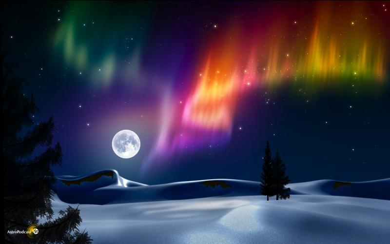 Polaire, c'est un phénomène lumineux de l'atmosphère.