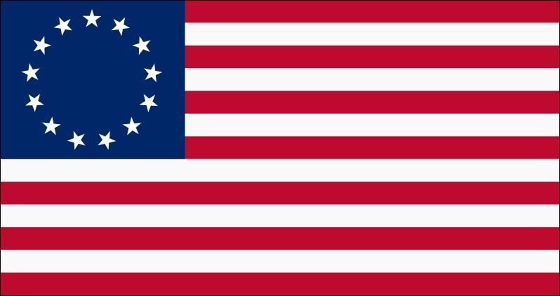 Qui aurait confectionné le premier drapeau officiel des États-Unis à la demande de George Washington ?